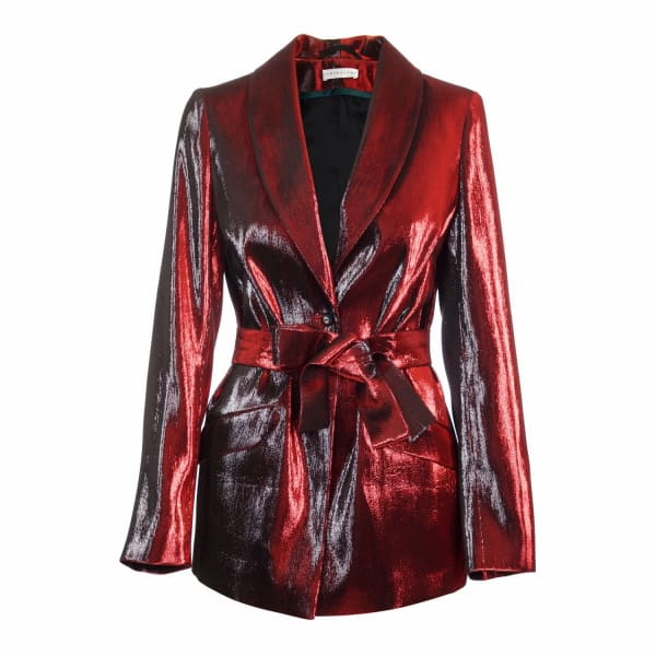 JIRI KALFAR Red Suit Jacket
