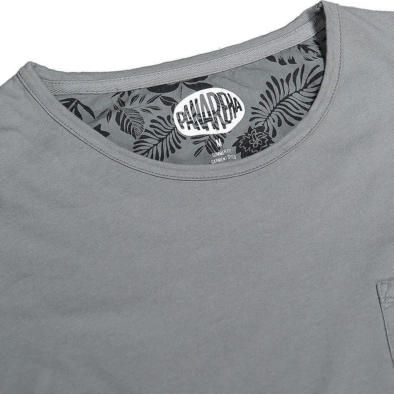 86feaecdf Margarita Pocket T-Shirt in Grey | Panareha | Wolf & Badger