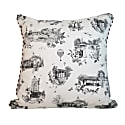 Panoramic Harrogate Toile Print Cushion image