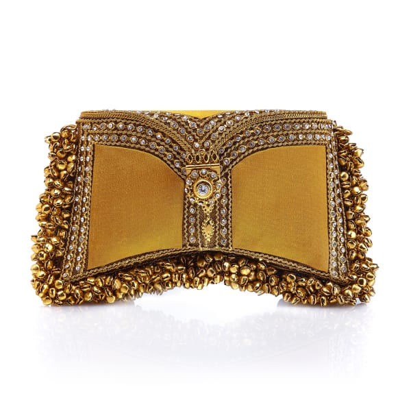 MAE CASSIDY Zeenat Clutch Butterscotch