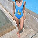 Banana One-Piece Swimsuit image