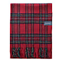 Cashmere Blanket In Stewart Royal Tartan image