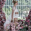 Silk Lingerie Set Ivory image