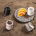 Mezcaleros Gradiva Black Marble - 4 Pieces image
