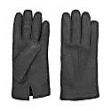 Handmade Peccary Leather Gloves Black Ciro image