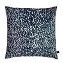 Animal Print Velvet Cushion 45 By 45 Magic In Grey Colourway image