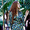 Bloomsbury Silk Kimono Robe image
