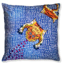 Large Nepalese Tiger Rug Cushion Cover image