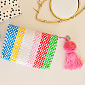 Cheche Travel Pouch Rainbow Stripe image