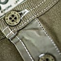 The New Elder Henley Short Sleeve Shirt Army Green image