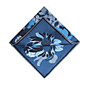 The English Garden Pocket Square Royal Blue image