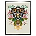 Antique Baroque Tiger Fine Art Print - A4 image