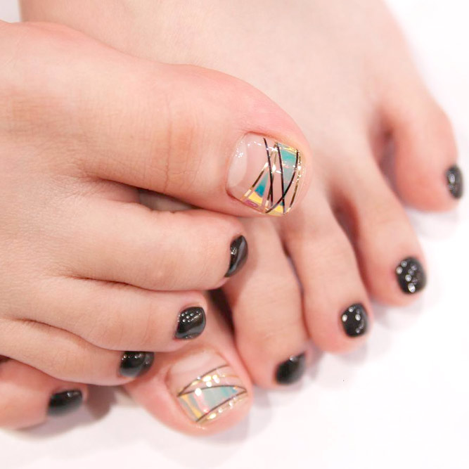 Toe Nail Design Ideas 6 Womanoclock