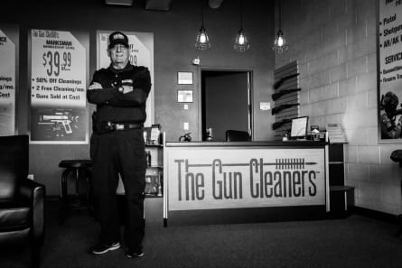 Photo of Lenny Piazza, Owner of The Gun Cleaners, Colorado Springs, Colorado