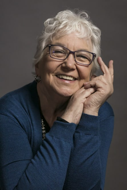Photo of Barbara Criswell, Owner of Aquarius Books, St. Louis, Missouri