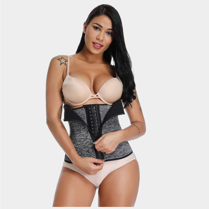 suana waist trainer muffin top sweat suit