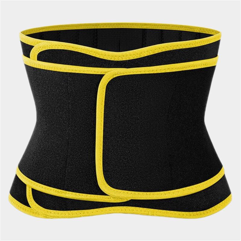 3 straps belly fat burner belt