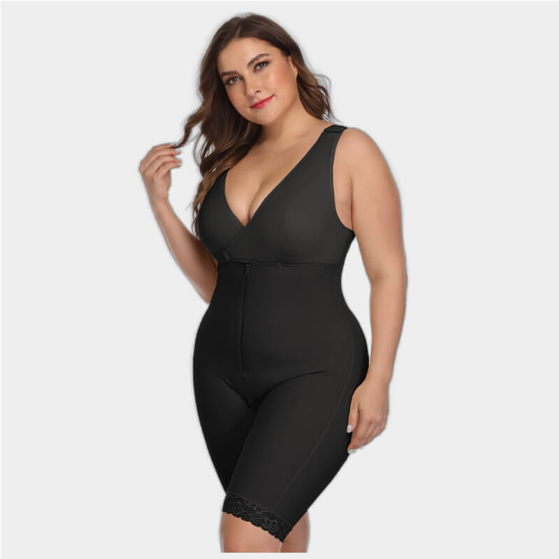 Plus Size Slimming Bodysuit