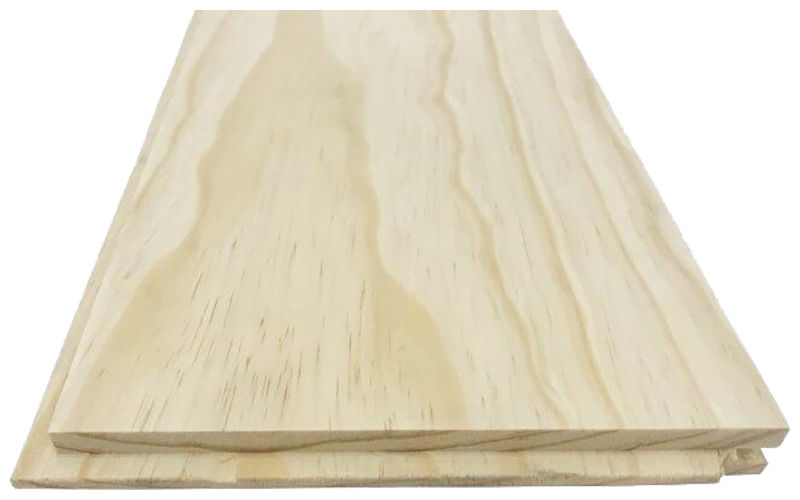 Solid Plank Pitch Pine Floor 20x180mm