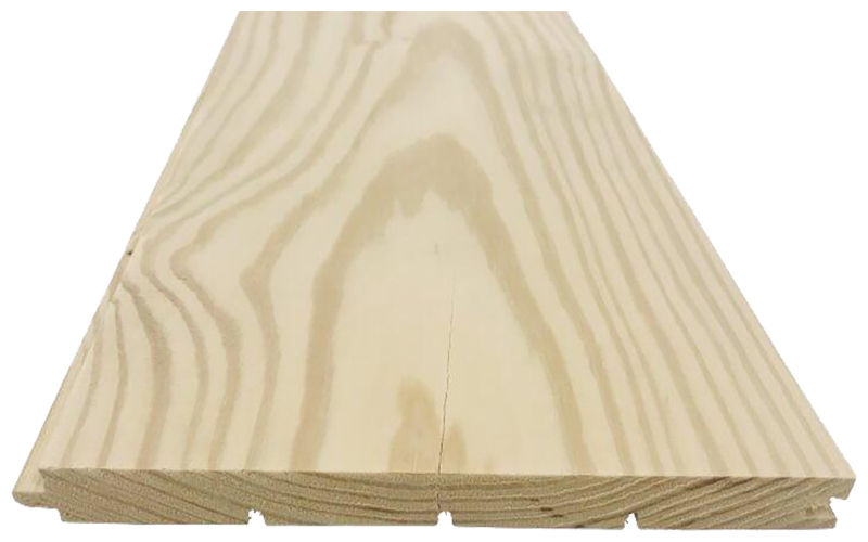 Solid Plank Pitch Pine Floor 20x226mm