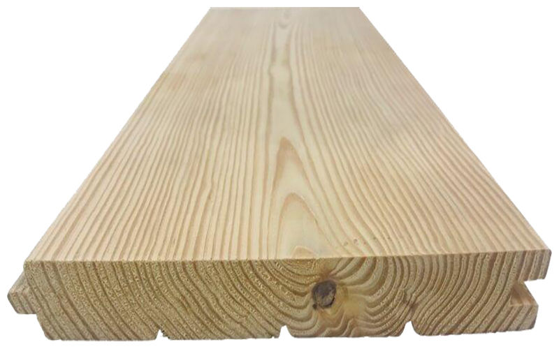 Solid Plank Pitch Pine Floor 33x220mm