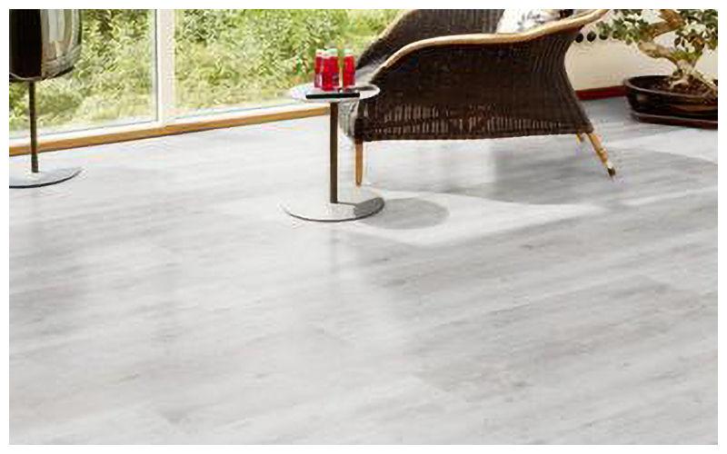 Kaindl laminate flooring - Oak Plank White