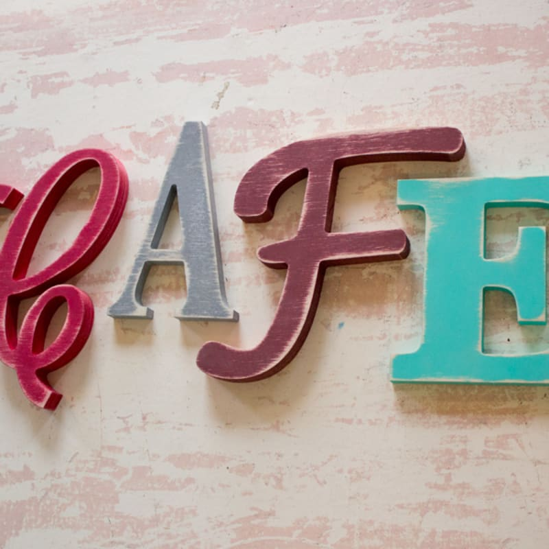 Shabby Wood Letters Distressed Wood Letters Craftcutscom