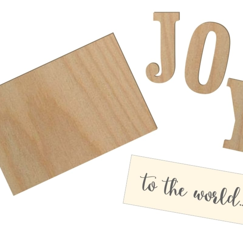 Joy To The World Kit Ready To Make For Christmas Craftcutscom