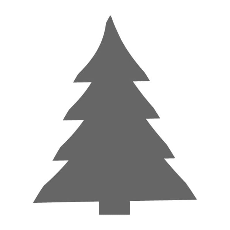 Christmas Tree Stencils: Full Christmas Tree Stencil