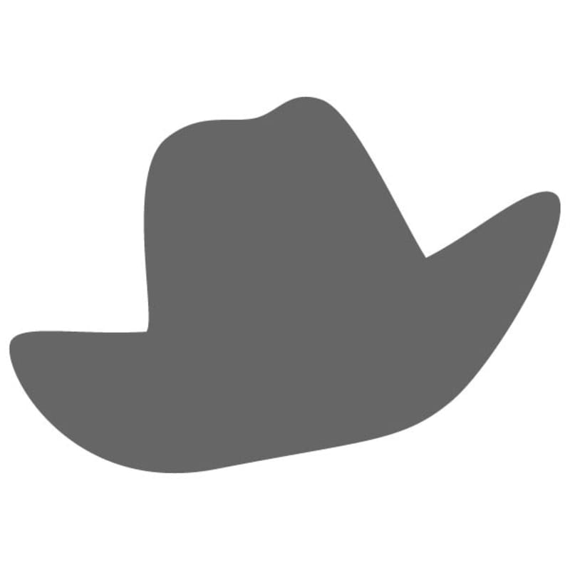b82e7032 Cattleman Cowboy Hat Decal - Cattleman Cowboy Hat Wall Decal ...