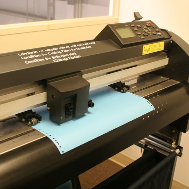 Custom Vinyl Cutting - Get a Quote | Woodland Manufacturing