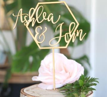 Custom Wedding Decorations Monograms Craftcuts Com