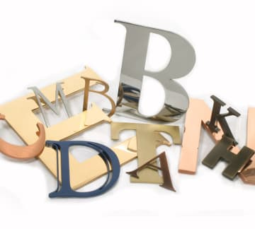 Metal Letters - Custom Metal Signs | Woodland Manufacturing