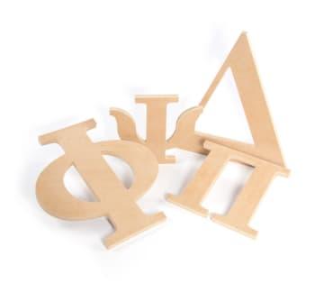 Greek Letters - Greek House Letters | Woodlandmanufacturing com