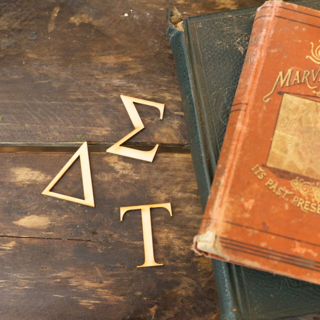 Wooden Greek Letters Any Size Any Font Craftcutscom
