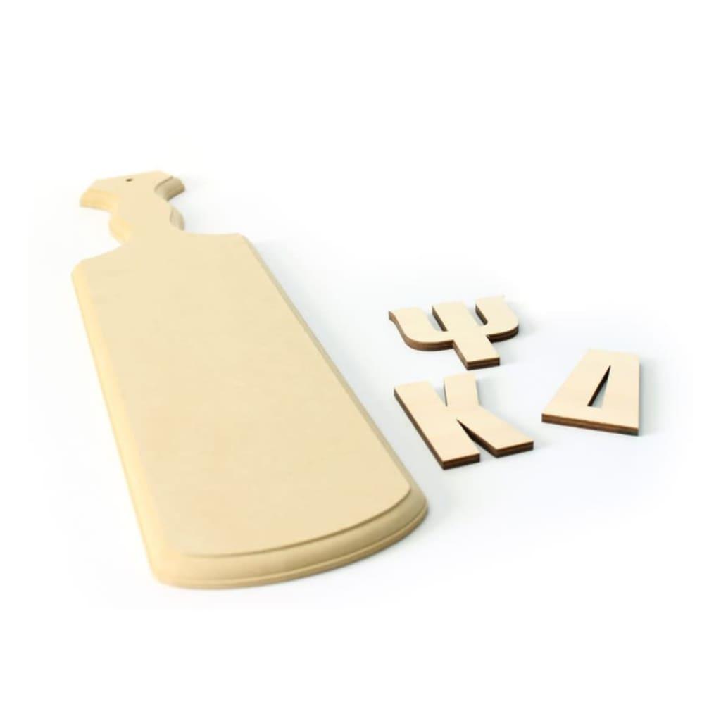 Greek Paddle Kit Diy Wood Greek Paddle Craftcutscom