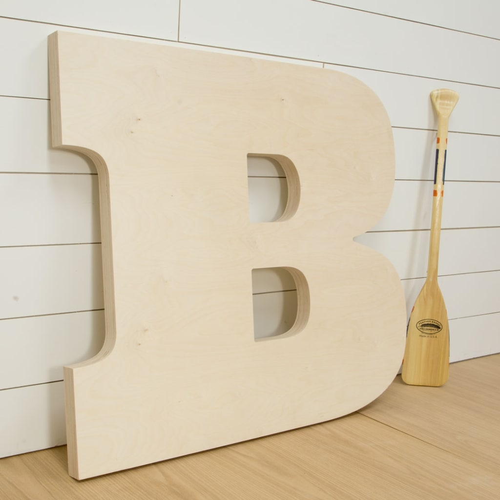 Large Decorative Wooden Letters.Large Wood Letter Decorate With Large Wall Letters Craft