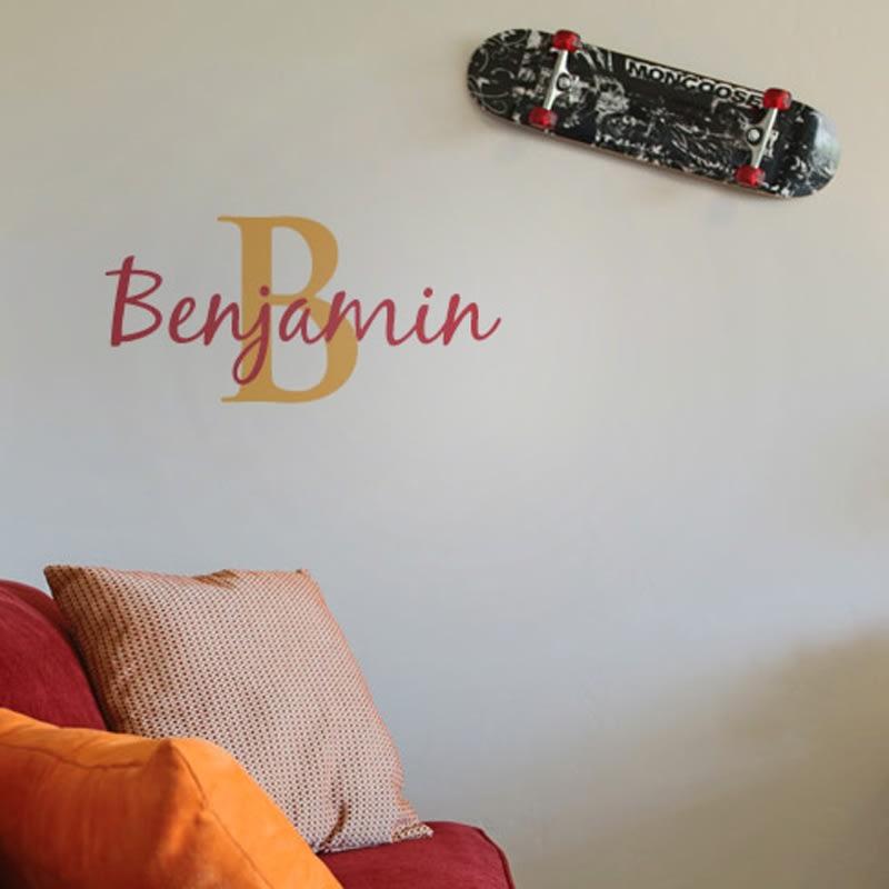 Custom Name Stencil - Custom Name Stencils for Walls | Craftcuts com