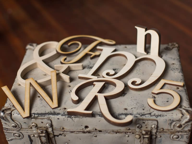 Wood Wall Letters - Custom Wood Lettering | Craftcuts com