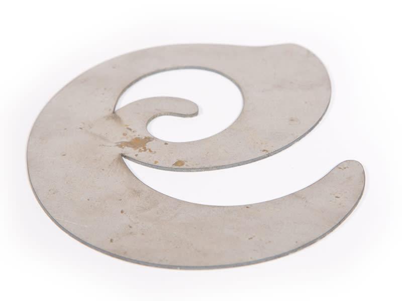 Mild Steel Letters - Custom Made for Welding & Concrete