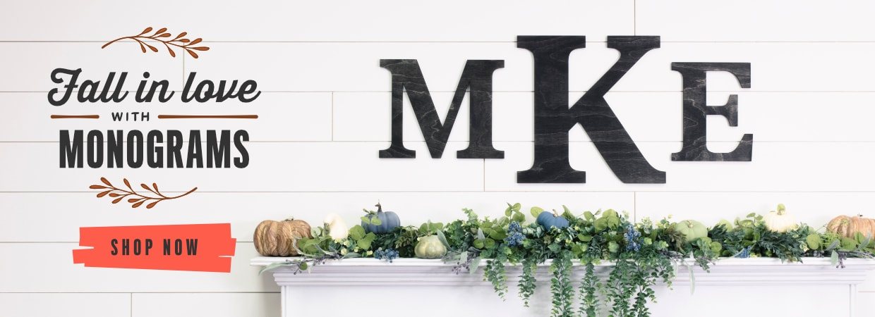 Wooden Letters - Wood Letters - Wall Letters | Craftcuts com