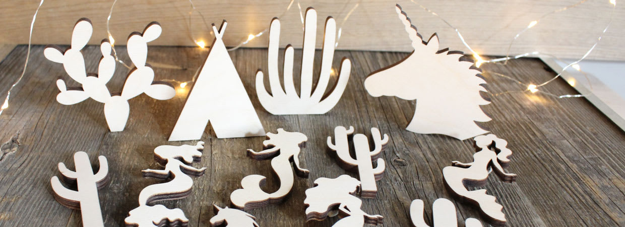Wood Cutouts Craft Shapes Craftcutscom