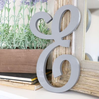 Decorative Wooden Letters Custom Wall Decor Craftcuts Com