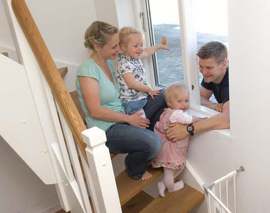 Renovering i Dragør – børnene elsker trappen