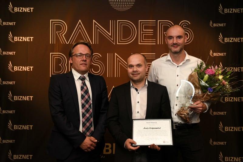 """WOOD STEP vinder prisen """"Årets virksomhed"""""""