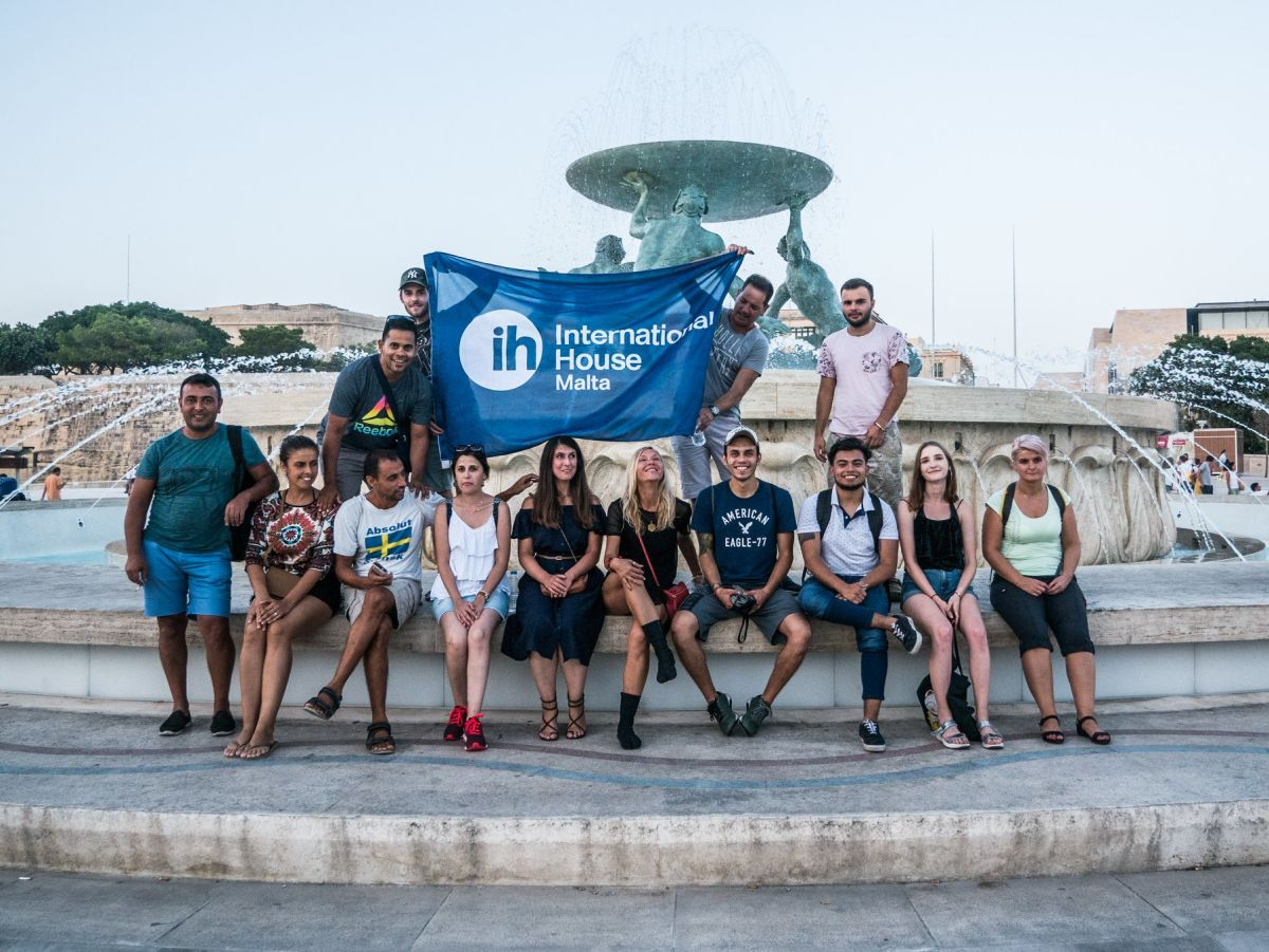 international house malta students 2