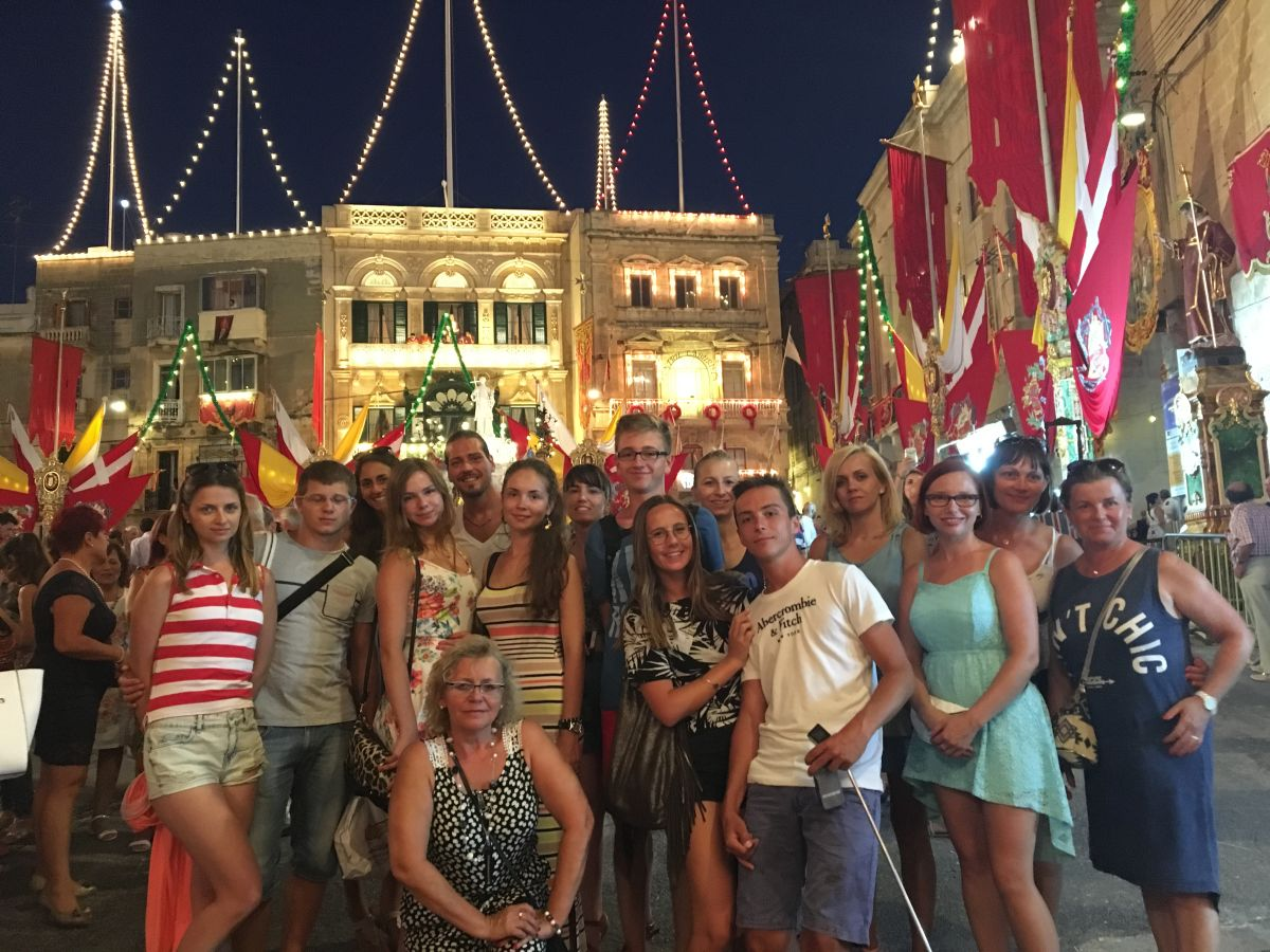 GSE Malta students visiting