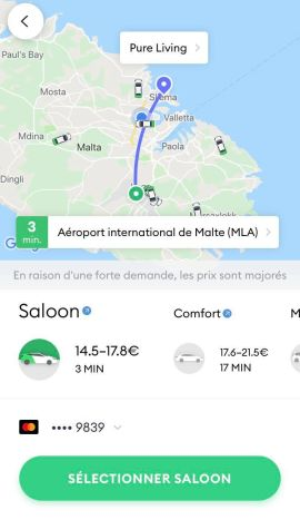 bolt ios application malte taxify