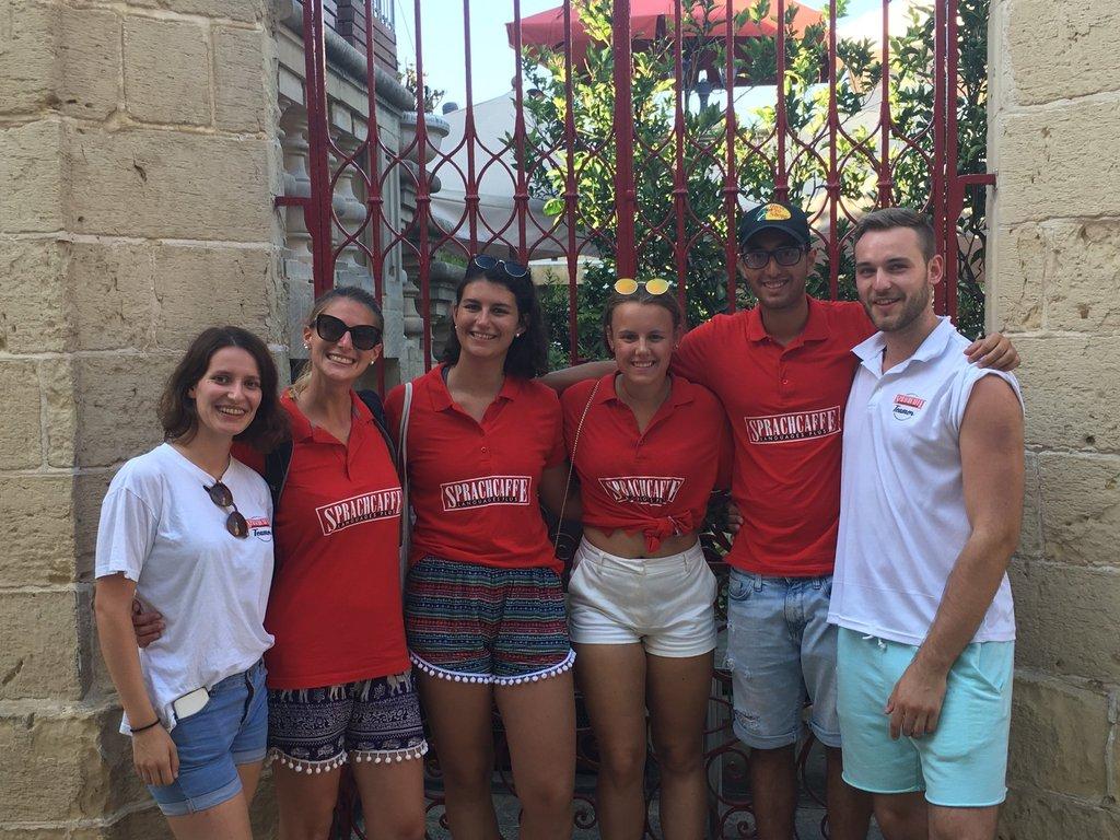 Sprachcaffe malta team