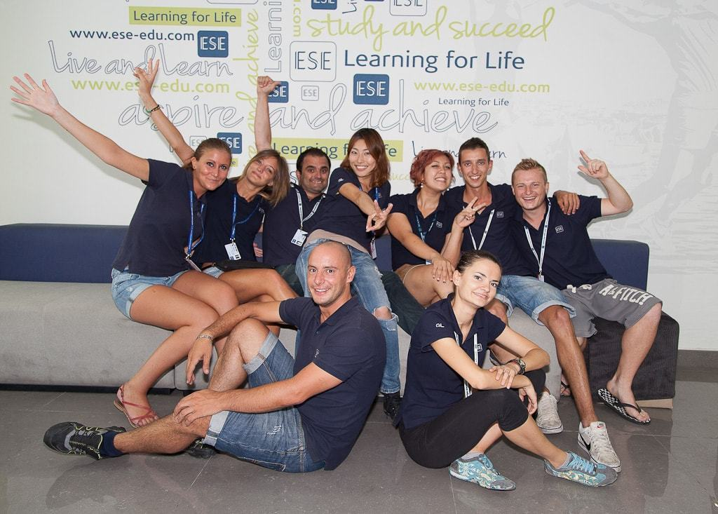 ESE school malta team